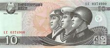 Korea North 10 won 2002 (2009) Unc pn 59