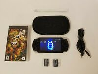 PSP-2000 Black Sony PlayStation Portable W/Extras & The Secret Saturday Game