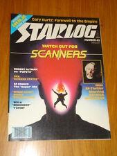 STARLOG #43 SCI-FI MAGAZINE FEBRUARY 1981 SCANNERS INCREDIBLE HULK POPEYE
