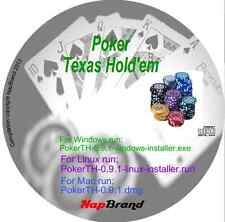 Poker Texas Holdem PC Casino Card Game Software for all Windows, Linux & Mac OSX