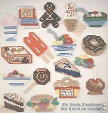 More Junk Food Fridge Magnets Cross Stitch Chart / Pattern - 21 Designs