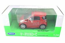 WELLY ASTON MARTIN CYGNET RED 1/24 NEW IN BOX DIECAST CAR  24028