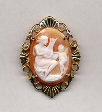 New 14K Setting Vintage Cameo, 25X19Mm, In