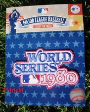 Official MLB 1980 World Series Patch Philadelphia Phillies vs Kansas City Royals