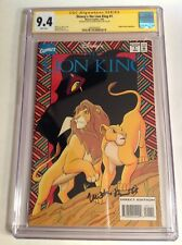 CGC 9.4 SS Disney's The Lion King #1 signed by Matthew Broderick 1994 not 9.8