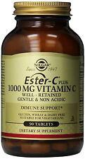 Solgar ESTER-C PLUS 1000 MG 90 compresse per pelle, legamenti, ossa e immune