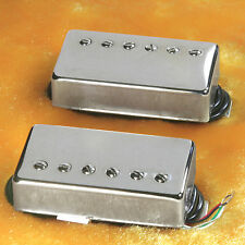Lindy Fralin Pure P.A.F. Custom 5% OVER  Pickups Nickel Covers 4 Cond Leads