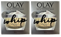 Olay Total Effects Whip, Light As Air, Active Moisturizer, 1.7 oz (Pack of 2)