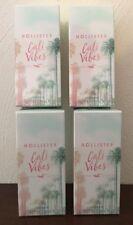 (4)CALI VIBES Hollister Co. 1.7 oz / 50 ml Perfume Fragrance La Perouse ~SEALED~