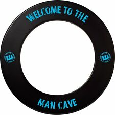 Winmau Professional 'Man Cave' Dartboard Surround with Printed Winmau Logo