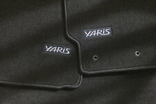Toyota Yaris 2007 - 2011 Hatchback Black Carpet Floor Mats - OEM NEW!