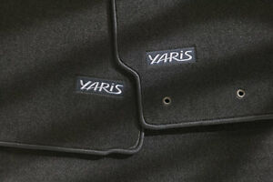 Toyota Yaris 2007 - 2011 Hatchback Black Carpet Floor Mats - OEM NEW!