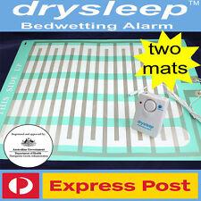 LARGE DrySleep Bedwetting Mattress Alarm,Bed Wetting Enuresis Child Urine 2 MATS