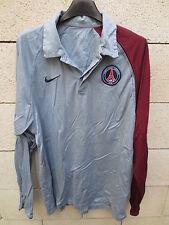 Polo PARIS PSG Nike Total 90 gris bordeaux shirt L