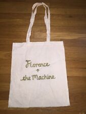 FLORENCE + THE MACHINE TOTE BAG Purser Gold Lettering