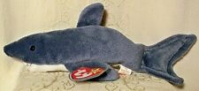 Ty Beanie Baby CRUNCH SHARK Retired 1996 Collectible Stuffed Animal Plush Toy