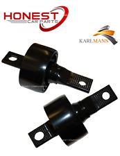 For ROVER 25 / 45 1999-2005 REAR TRAILING ARM BUSHS X2 Karlmann