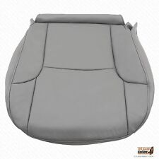 2007 2008 Toyota 4Runner Limited Driver Bottom Synthetic Leather Seat Cover Gray