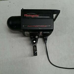 Photogenic Powerlight 1250 DR Monolight Portable Flash w/Flash Tube WORKING