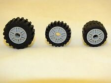 LEGO 30.4X14,24X14 AND 24X7 TIRE AND RIM BRICK BRAND NEW NEVER USED 206 PIECES