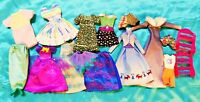 Large Lot of Barbie and Other Fashion Doll Clothes and Accessories Bag S-2