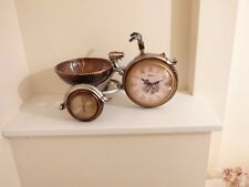mantle clock tricycle.