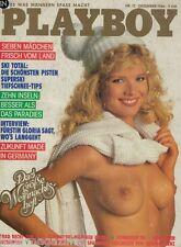 Playboy 12/1986 Dezember,Claudia Kopacka, zum Geburtstag!