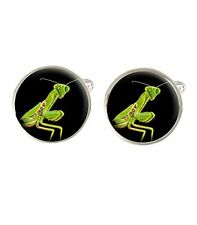 Praying Mantis Insect Mens Cufflinks Fathers Birthday Gift C228