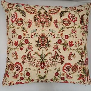 "William Morris cushion 2, 17x17"", Tapestry, Kapok, Handmade, double-sided, zip"