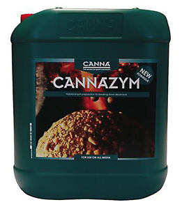 CANNA Cannazym High Quality Nutrient Plants Growth Protects Hydro Soil Coco - 5L