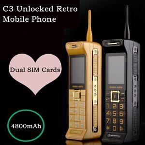 Classic Vintage Retro Brick Mobile Phone Quad-band Dual SIM Dual Standby GB