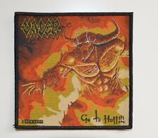 VADER - Go To Hell - Patch - 10,4 cm x 10,4 cm - 164552