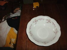 "Vintage East Liverpool Potteries Co. 9"" Vegetable Dish, w/ Pink Roses Pattern"