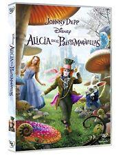 PELICULA  DISNEY  DVD  ALICIA EN EL PAÍS DE LAS MARAVILLAS (TIM BURTON)  NUEV...