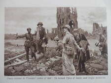 1919 EARLY TOURISTS TO YPRES; CENOTAPH; TSAR MURDR HOUSE EKATERINBURG WW1 WWI
