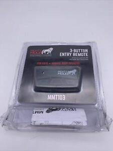 Mighty Mule 3-Button Entry Remote MMT103