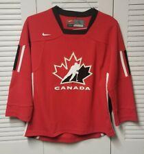 Team Canada IIHF - Olympic - 2002  Authentic Nike Hockey Jersey - WJC