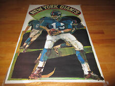 1969 NATIONAL FOOTBALL LEAGUE 50th Anniversary Poster NEW YORK GIANTS (1925)