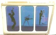 SEEBURG S100 JUKEBOX :  RIGHT CENTER DECORATIVE PANEL w/ GLASS &  3/4 FRAME