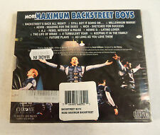 More Maximum Backstreet Boys by Backstreet Boys (CD, Jan-2000) Import NEW Sealed