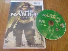 Tomb Raider Underworld ~~ Jeu WII Sans Notice