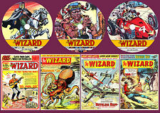 Wizard Series 1 Comic On Three DVD Rom's