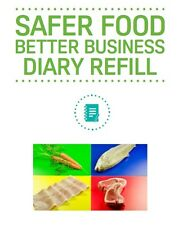 SFBB Safer Food Better Business Caterers 13 Month Diary Refill Pack Food Hygiene