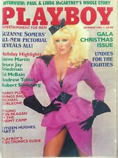 Vintage PLAYBOY Magazine Dec 1984 Cover Suzanne Somers Playmate: Karen Velez