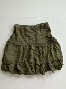 princess polly skirt army green size 6.