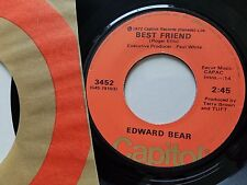 "EDWARD BEAR - Last Song / Best Friend 1972 POP ROCK AOR Classic 7"" Capitol"