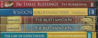Pat Robertson DVD Lot!  w/3 Blessings/Secret Kingdom/law of Expectation & MORE!