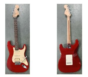 Fender Squier Standard Stratocaster Electric Guitar in Red