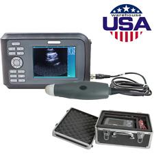 New Veterinary Portable Ultrasound Scanner Machine Kit Pregnancy Animal Dogcat