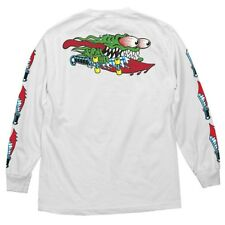 Santa Cruz Keith Meek Slasher Swords Long Sleeve T Shirt White Xxl